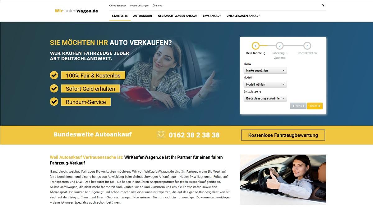 Autoankauf Wuppertal | wirkaufenwagen.de