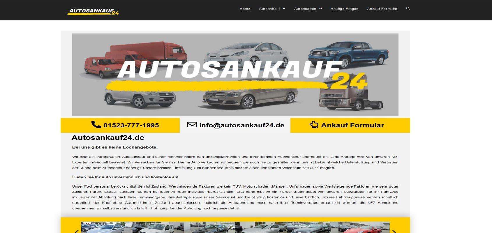 autosankauf24.de Autoankauf Kassel